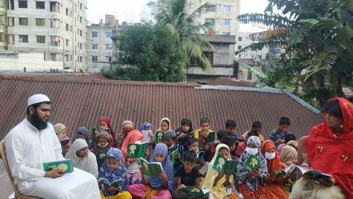 কথাকলা কেন্দ্রে শুরু হয়েছে শিশুদের ইসলামি শিক্ষা